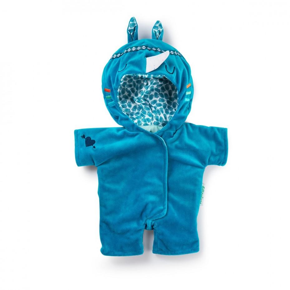 Rhino doll-onesie (Doll 36 cm)