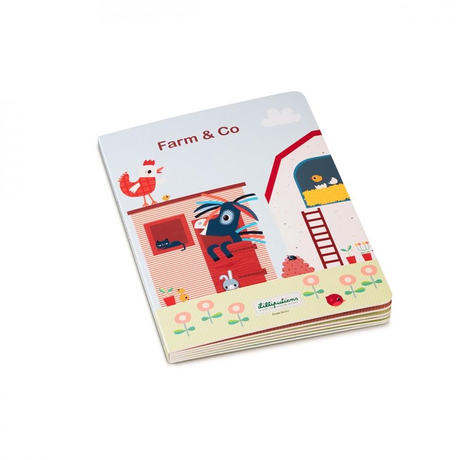 FARM & CO - Mi primer libro-puzle