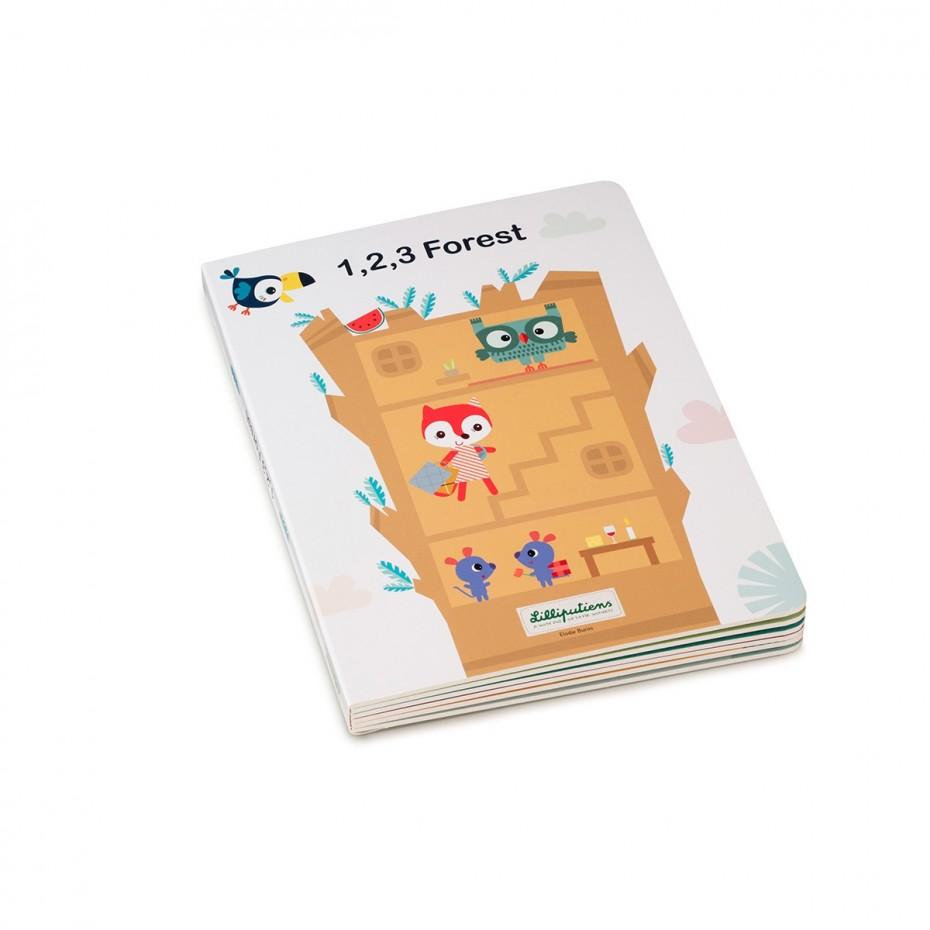1, 2, 3 FORESTA - Il mio primo libro-puzzle