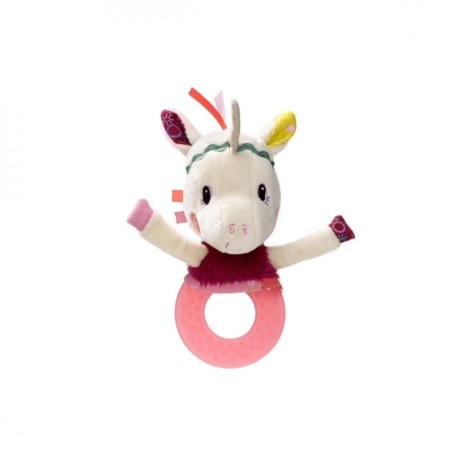 Louise teething rattle