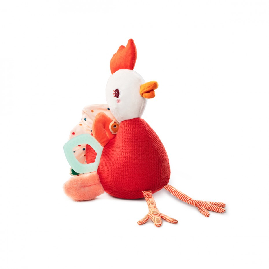 Multi-activity chicken