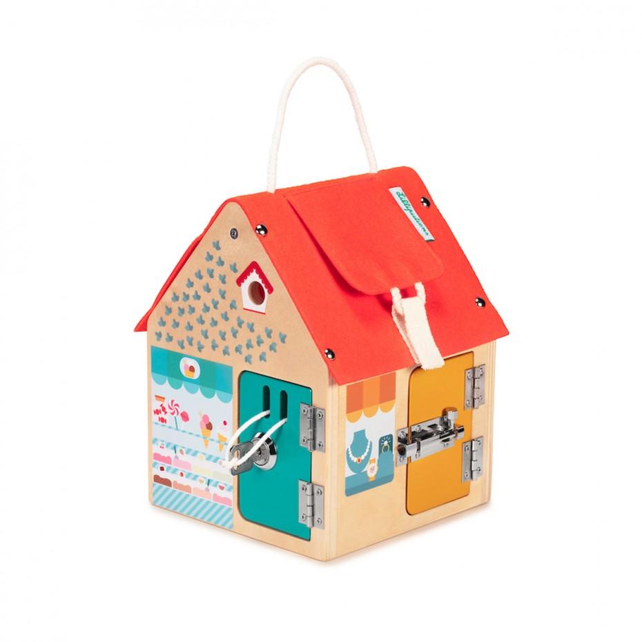 La casa per l'apprendimento multi-serratura