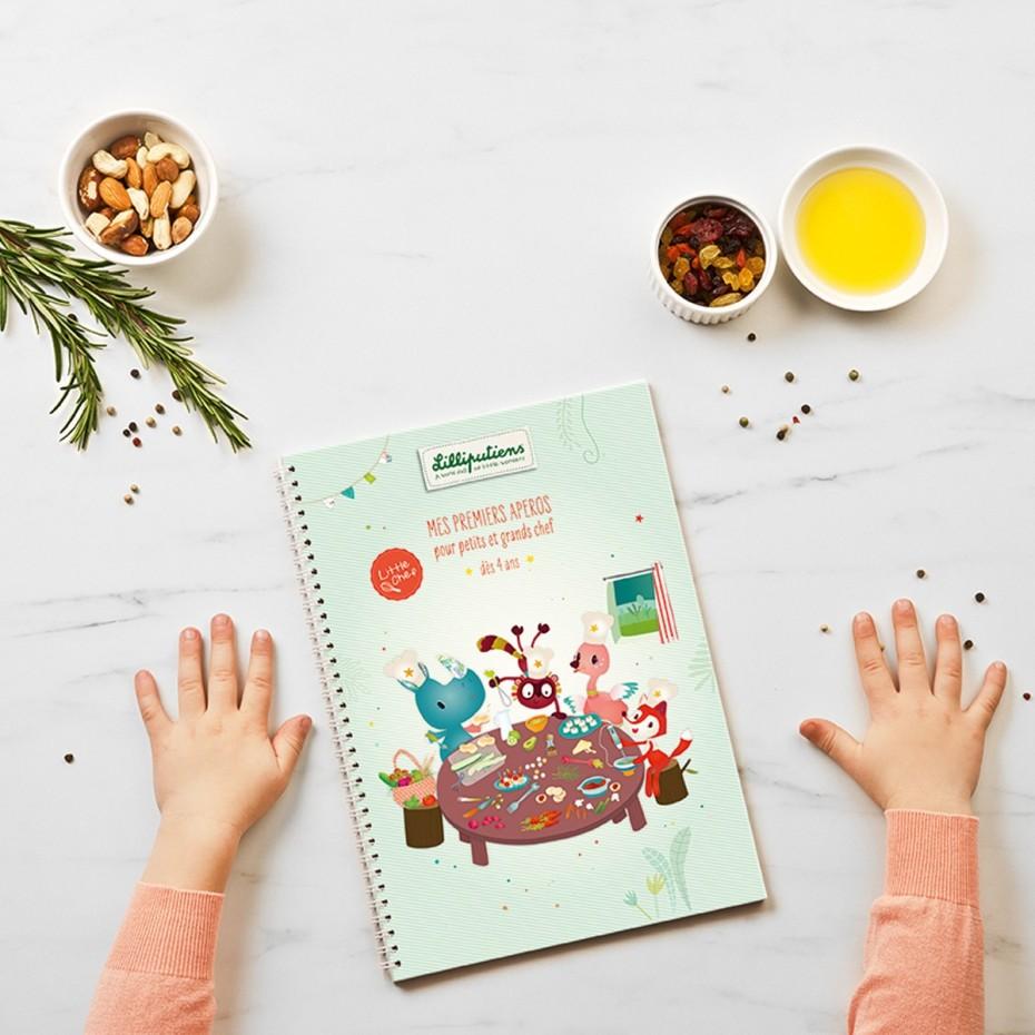 Buch recettes mes premiers apéritifs (FR)