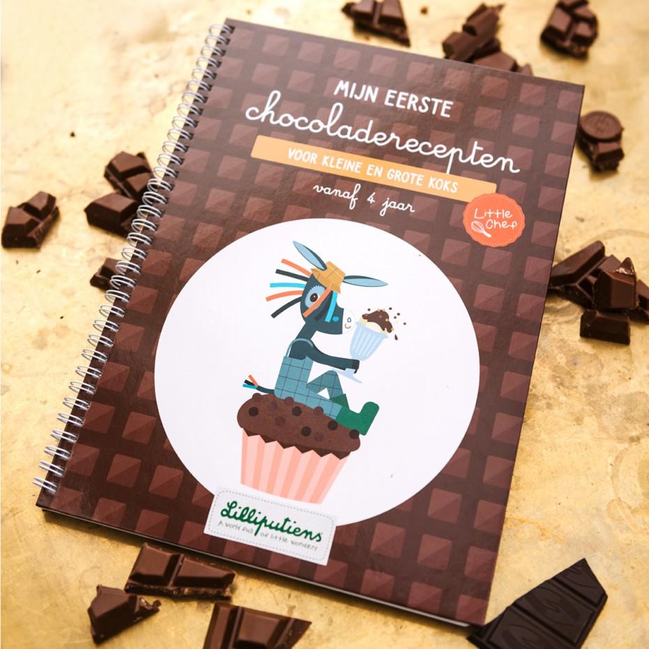 Mes premières recettes tout chocolat (NL)