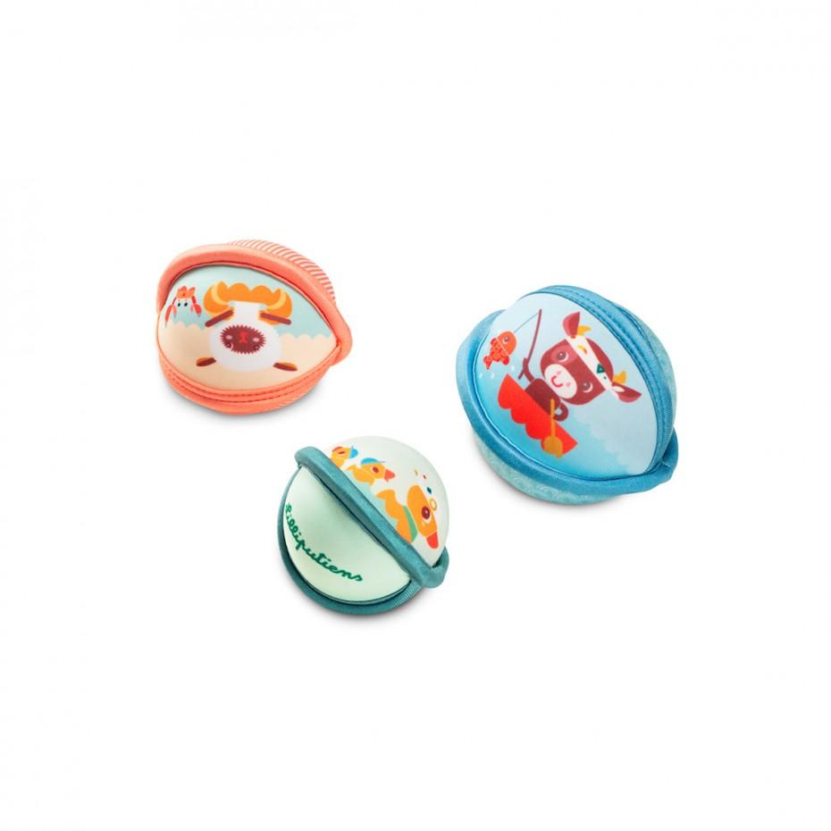 Fattoria serie di palle per il bagnetto