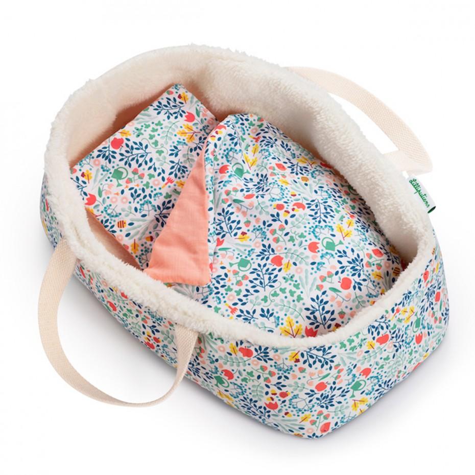 FLOWERS Babydoll basket