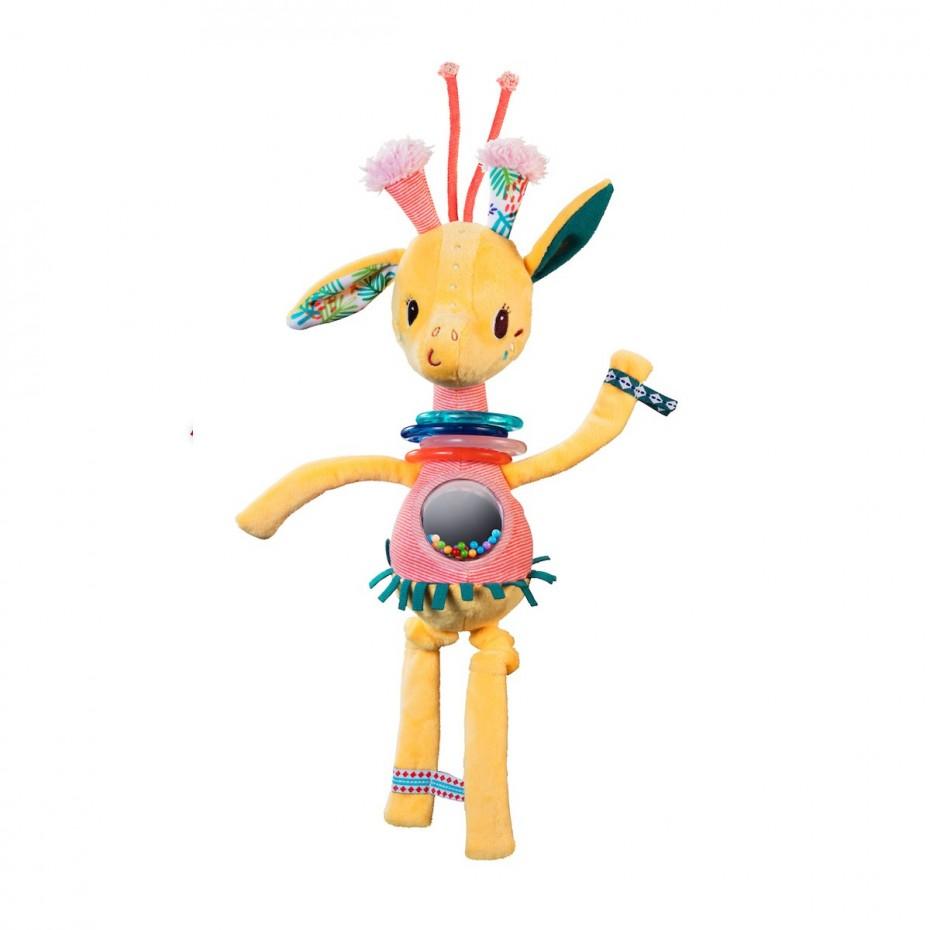 Zia, tanzende Giraffe Rassel