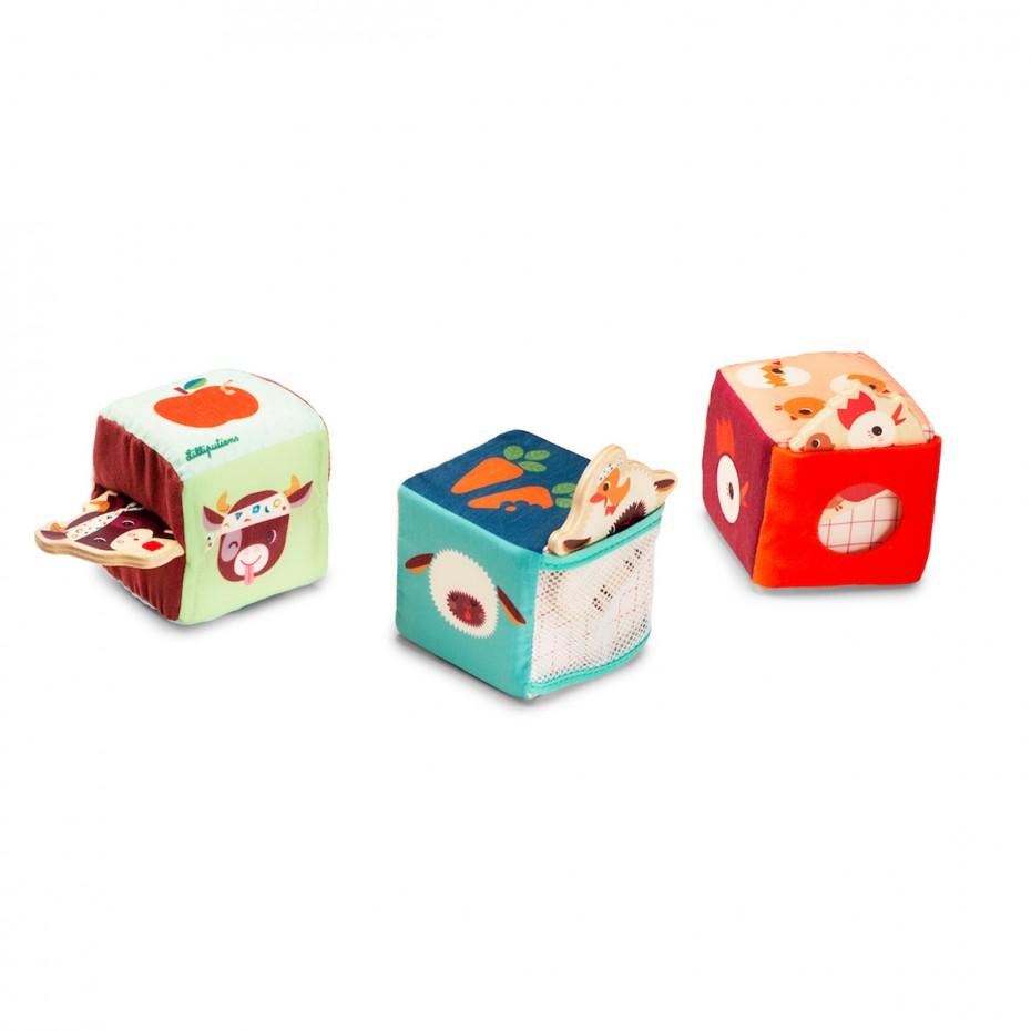 FARM Hide-and-seek set of cubes