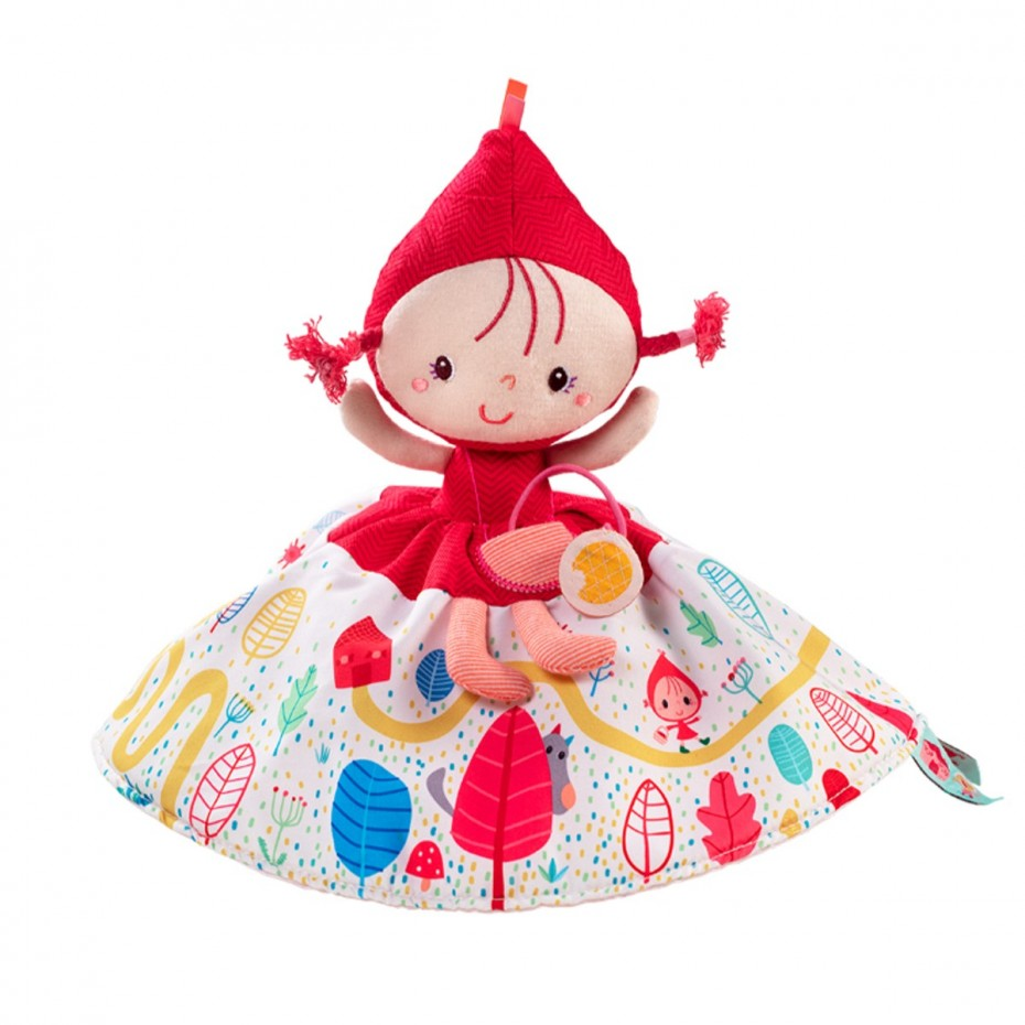 Bambola raccontastorie reversibileCappuccetto Rosso