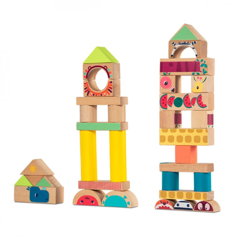 Jungle Building Blocks