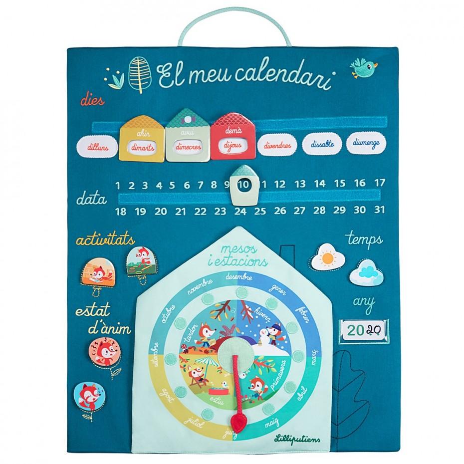 Au fil du temps - Mon premier calendrier (Catalan)