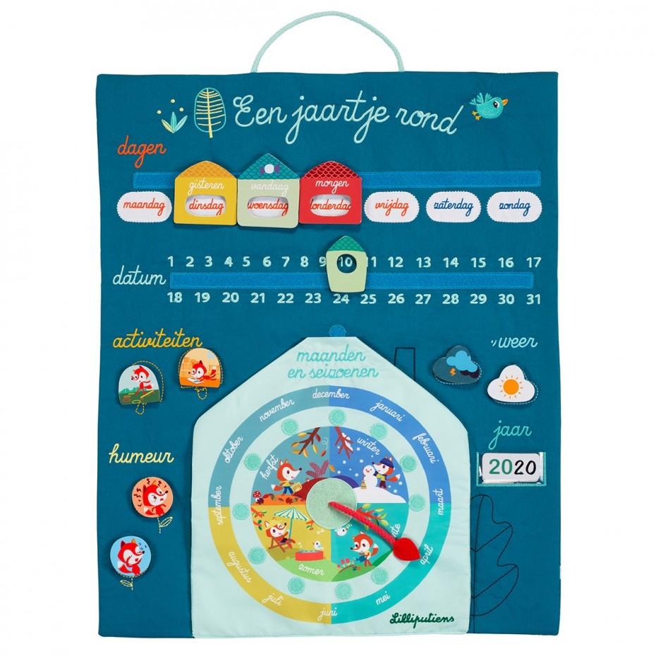 Au fil du temps - Mon premier calendrier (NL)