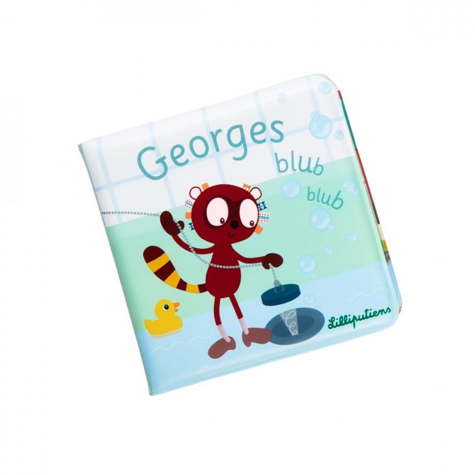 Libro para el baño «Georges blub blub»