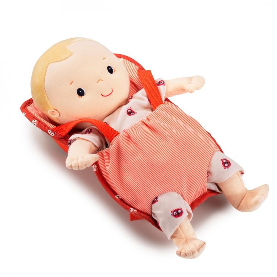 Portabebés (muñeco 36 cm)