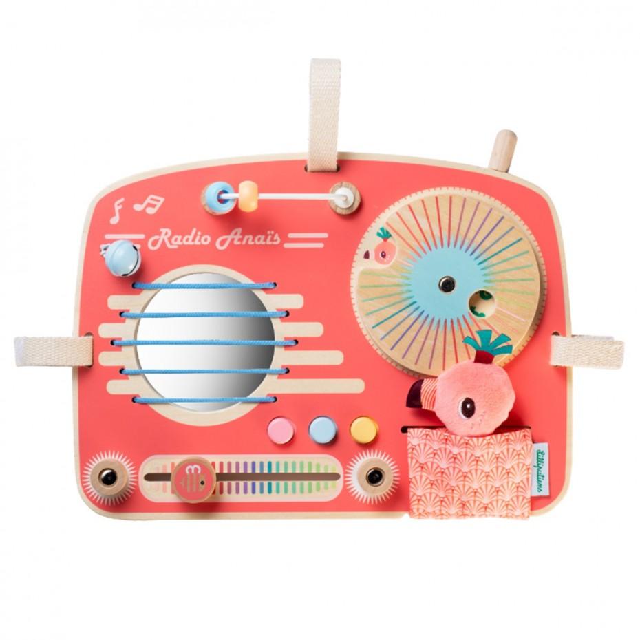 Activiteitenpaneel radio