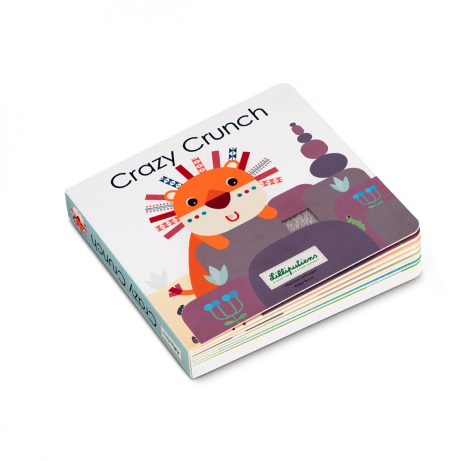 Crazy Crunch - Voelboek met geluiden