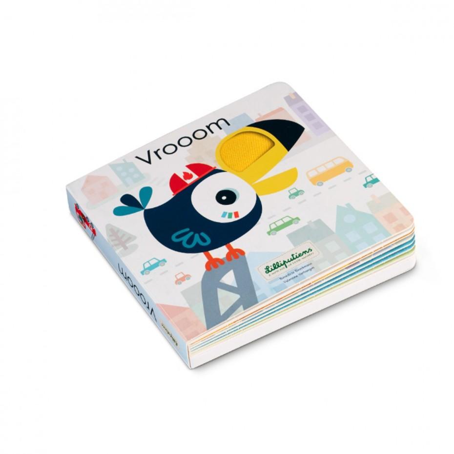 Libro de sonidos y texturas de vehículos