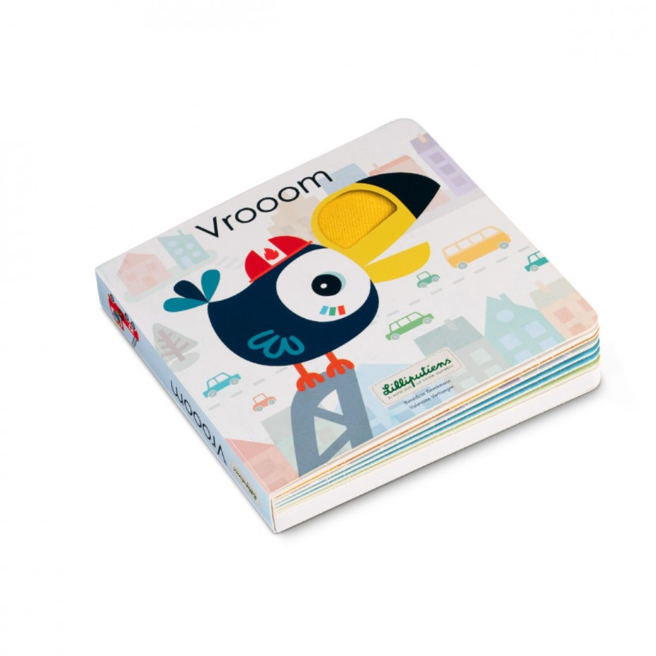 VROOOM - Touch and sound book