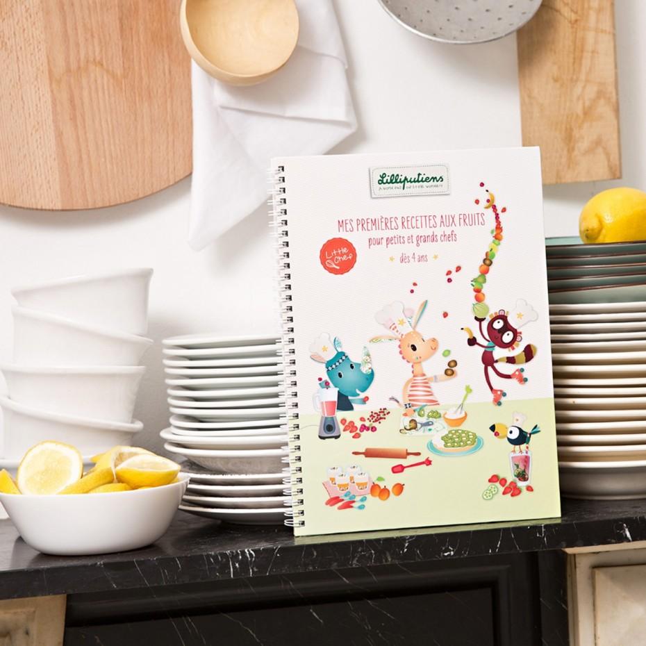 Livre recette - Mes Premières recettes aux fruits (FR)