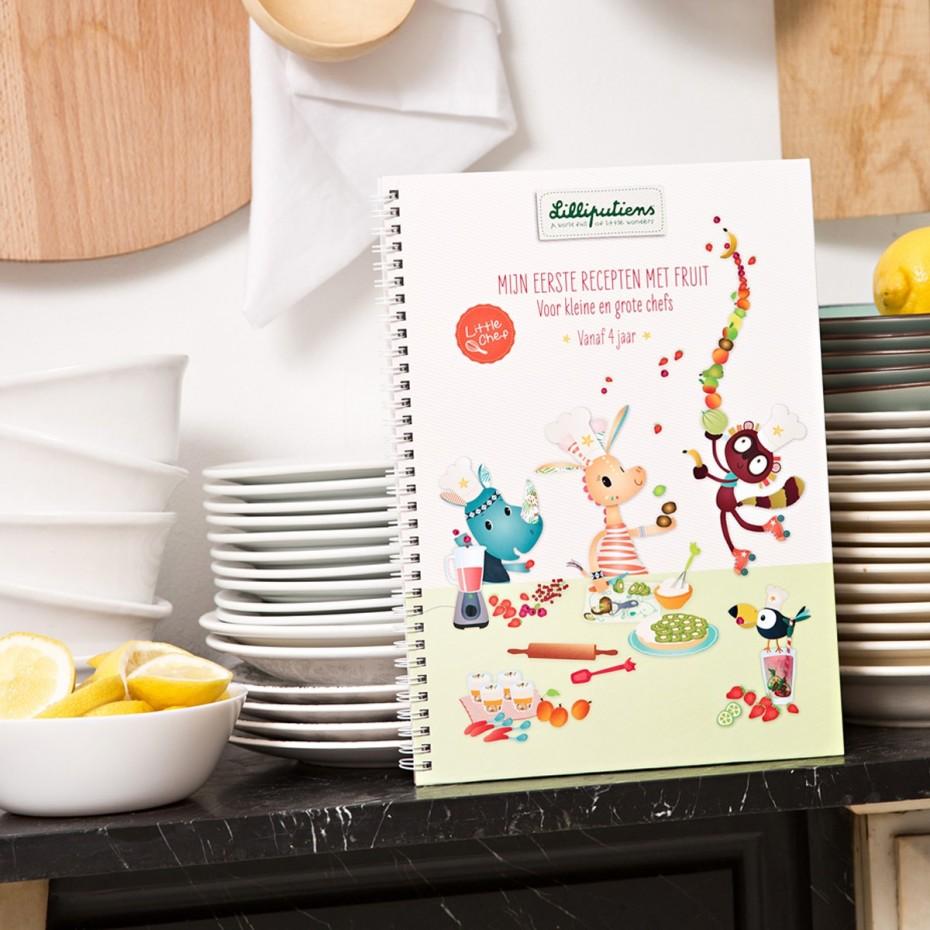 Receptenboek - Mijn eerste recepten met fruit (NL)
