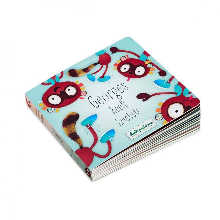 Omkeerbaar boek: Georges / Alice (NL)
