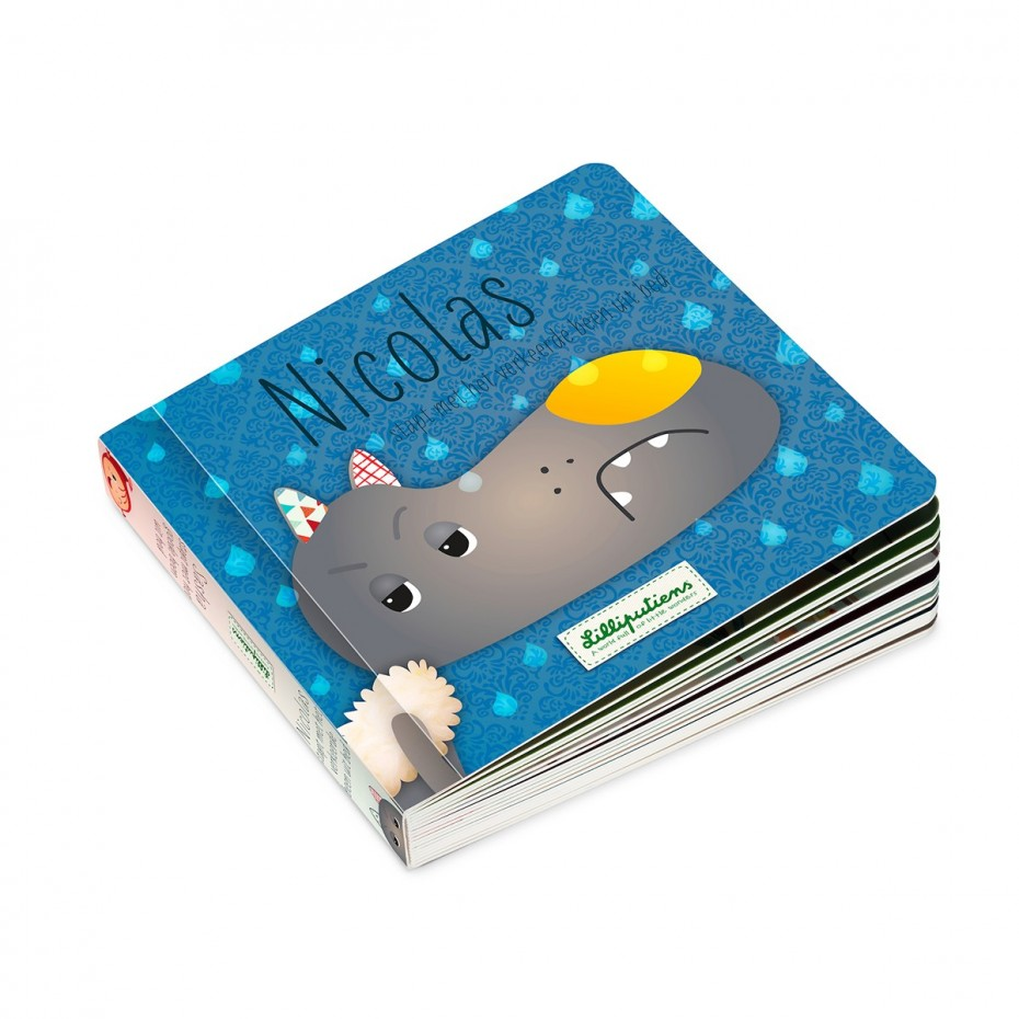 Omkeerbaar boek: Nicolas / Sasha (NL)