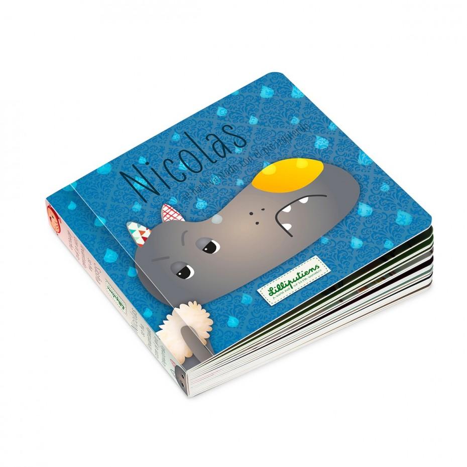 Omkeerbaar boek: Nicolas / Sasha (ES)