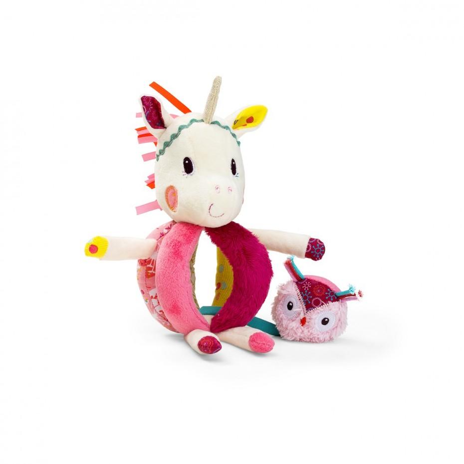 Louise unicorn handrattle